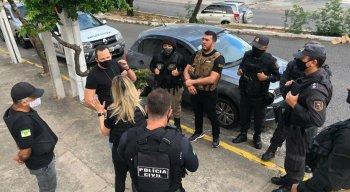 Operação Apneia cumpre duas medidas cautelares de prisão e seis mandados de busca e apreensão