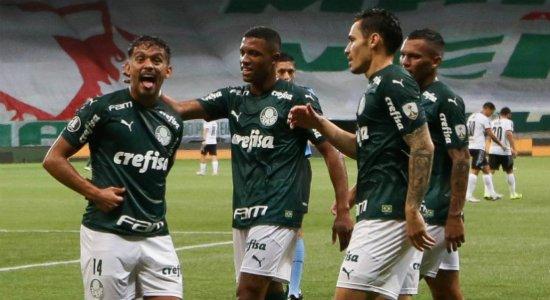 Palmeiras vence Libertad e está nas semifinais da Libertadores