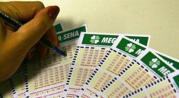 Mega-Sena faz sorteio nesta quarta-feira.
