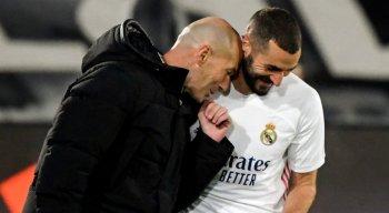 Técnico do Real Madrid, Zinedine Zidane, considera Benzema o melhor atacante da história da França