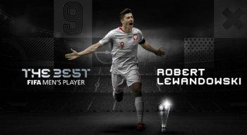 Lewandowski fica na frente de Messi e Cristiano Ronaldo e conquista The Best
