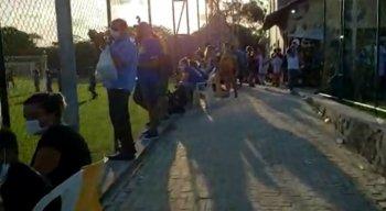 Campeonato realizado no CT do Retrô PE descumpre decreto do Governo e provoca transtorno em Aldeia