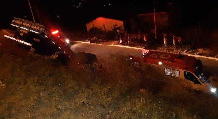 Motorista da BMW fugiu após colisão