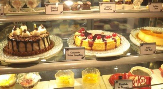 Maria José Café Gourmet conta com diversas opções de doces