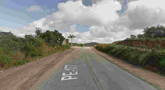 Motociclista sem capacete morre em colisão no Agreste de Pernambuco