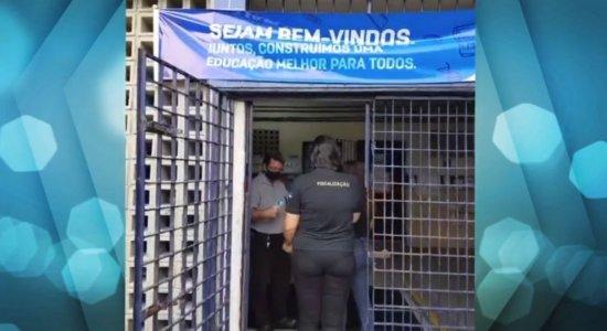 Conselho Regional de Educação Física inspeciona escolas do Recife