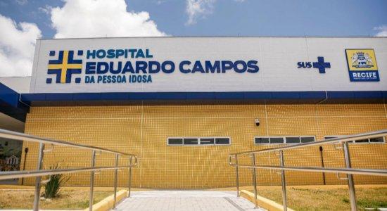 Covid-19: Hospital Eduardo Campos da Pessoa Idosa abre 80 leitos de UTI