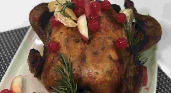Frango Speciale de Natal do chef Rivandro para abrilhantar a sua ceia