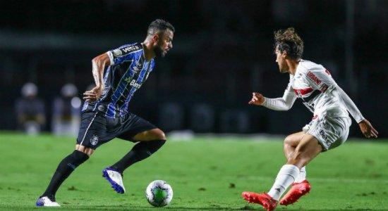 Grêmio e São Paulo iniciam duelo por vaga na final da Copa do Brasil