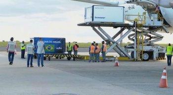 Carregamento chegou em São Paulo nesta quinta-feira (24)