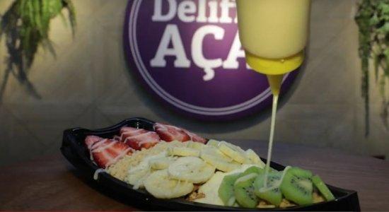 Delifrio Açaí é opção para quem aprecia sobremesas geladas