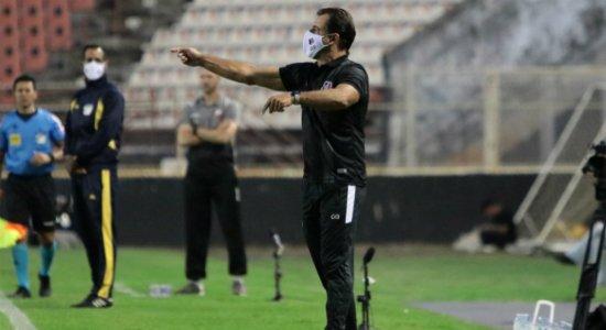 'Agora o time está com a cara do Santa Cruz', diz Marcelo Martelotte