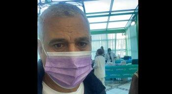 Mario foi vacinado contra a covid-19 no dia 22/12