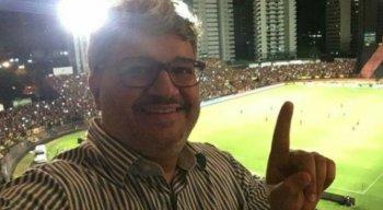 O advogado Pedro Lacerda é pré-candidato à presidência do Sport