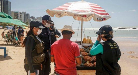 Ano Novo: comércio em orla de praias do Recife tem restrições; confira
