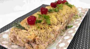 Receita de Rocambole de Porco do chef Rivandro França