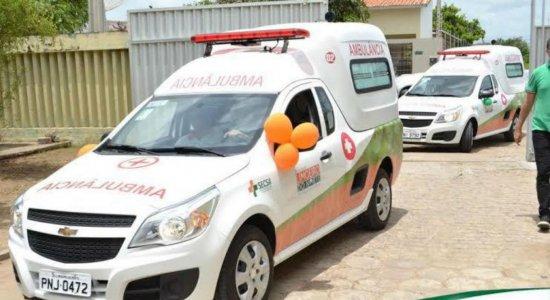 Criminosos roubam ambulância em Limoeiro