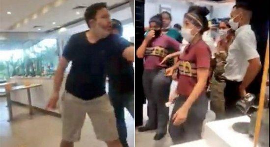 Vídeo: homem surta com funcionários por falta de catchup em rede de fast-food