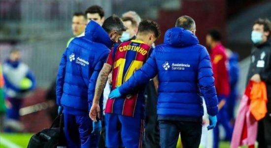 Philippe Coutinho vai passar por cirurgia no joelho, diz Barcelona