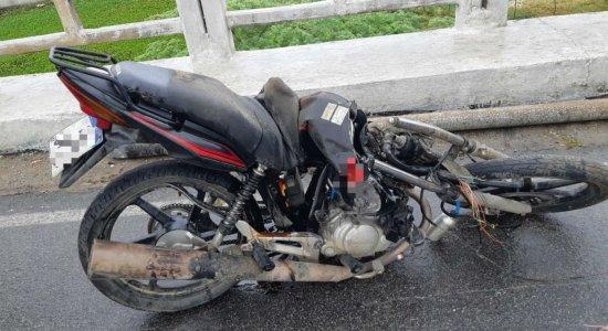 O acidente foi registrado em Agrestina, no dia 1º de janeiro