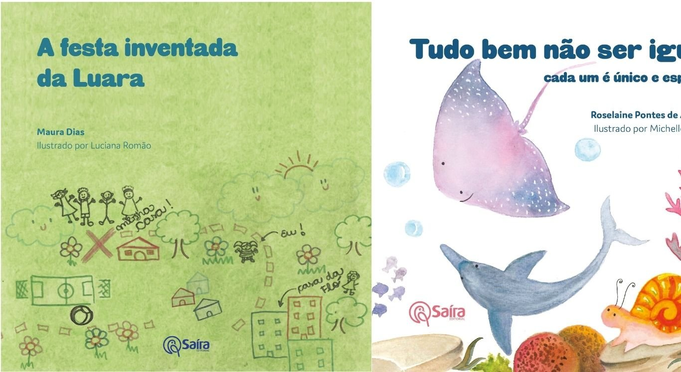 Dicas de livros infantis para ler nas férias