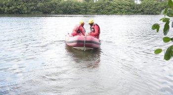 Buscas são feitas no Rio Teijipió