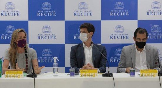 Prefeito do Recife se reúne pela 1º vez com novo secretariado