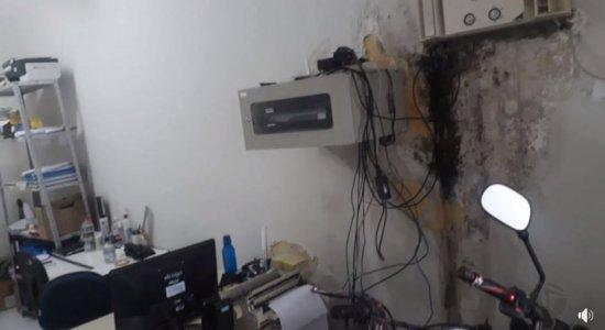 Sindicato dos policiais civis denunciam péssimas condições na Delegacia de Tacaratu
