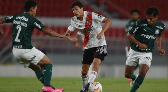 Veja onde assistir ao vivo a Palmeiras x River Plate pela Libertadores