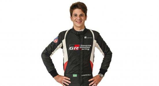 Filho de Rubinho Barrichello vai competir na Europa em 2021