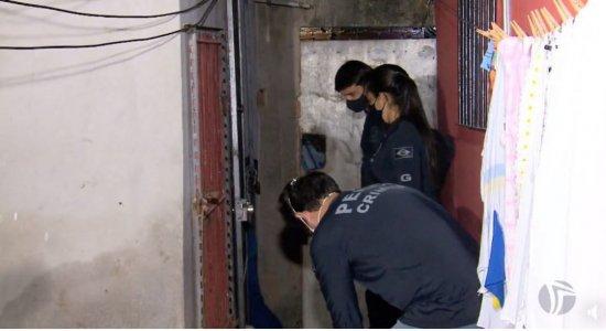 Casa do namorado de mulher desaparecida no Rio Teijipió passa por nova perícia