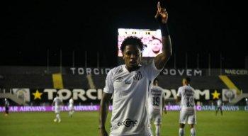 Atacante Marinho é a esperança de gols do Santos