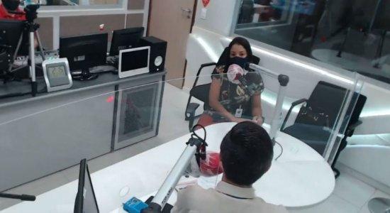 A entrevista foi concedida pela coordenadora do Disque-denúncia, Janeilda Rodrigues