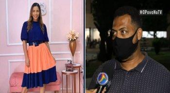 O cunhado e produtor da cantora, Denilson Santos, concedeu entrevista ao vivo ao programa O Povo na TV desta sexta-feira (8)