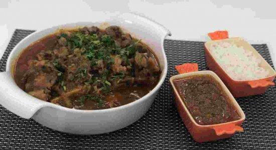 Receita deliciosa de Rabada com Pirão do chef Rivandro França