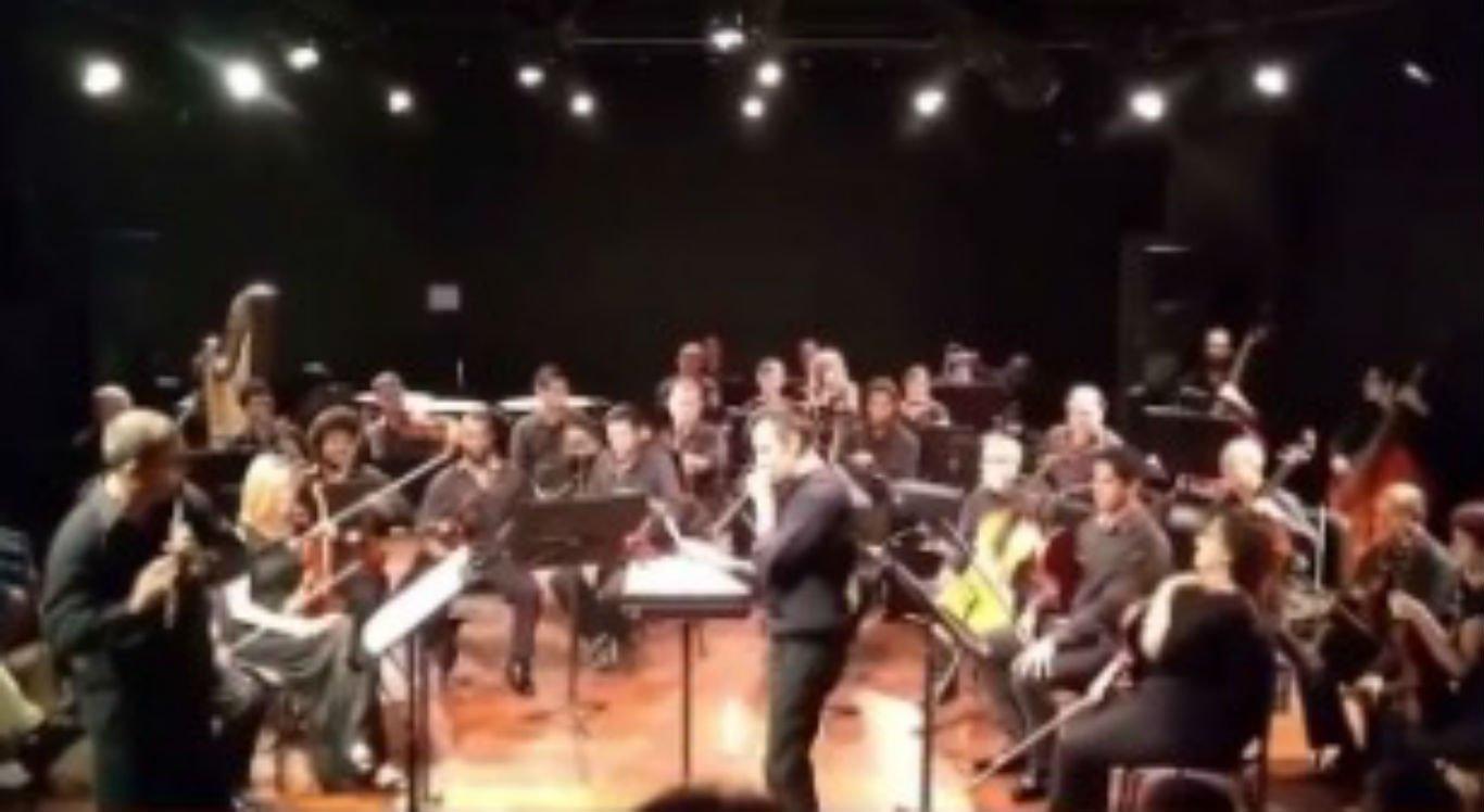A Orquestra Sinfônica da Bahia (Osba) publicou o vídeo de quatro anos atrás em comemoração