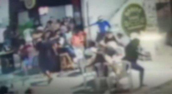 Vídeo mostra assassinato de policial em lanchonete na Zona Norte
