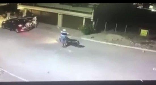 Suspeito foi preso durante perseguição policial