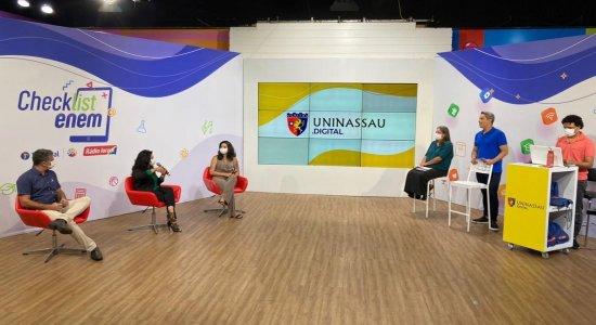 Reveja a live da TV e Rádio Jornal com dicas para o Enem