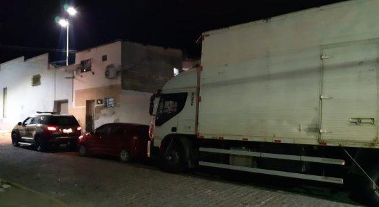 PRF recuperou caminhão com eletrodomésticos