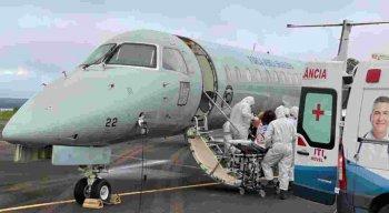 Os pacientes de Manaus começaram a ser transferidos na manhã desta sexta-feira (15)