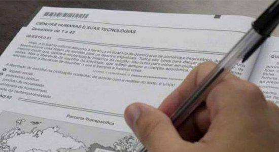 Justiça Federal suspende realização das provas do Enem no Amazonas; em Pernambuco, provas estão mantidas