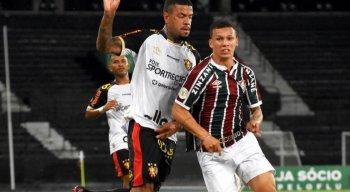 Com um a menos, Sport não segura o Fluminense e é derrotado por 1x0