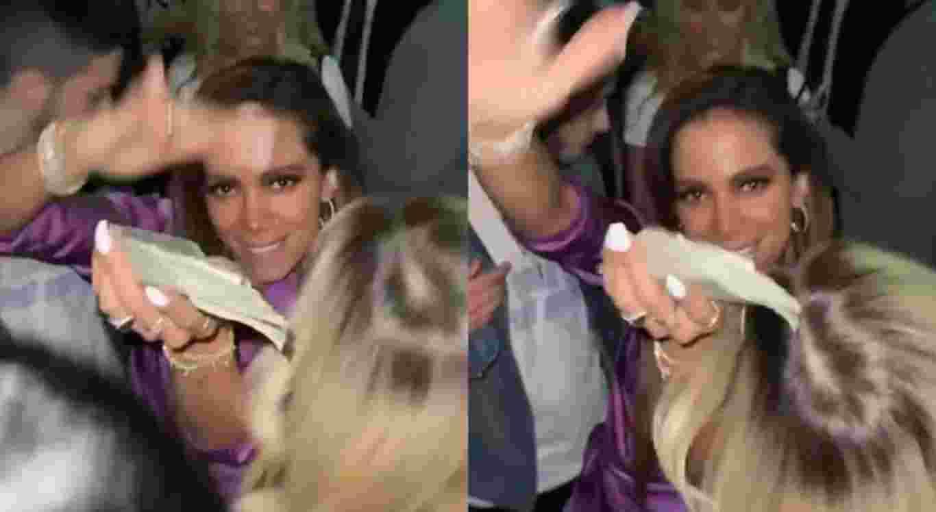As imagens de Anitta foram publicadas nas redes sociais de Tyga