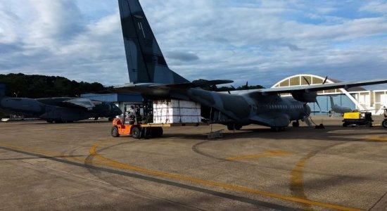 Covid-19: Aviões da FAB iniciam transporte de vacinas aos estados
