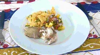 Receita de Peixe no Vapor do Sal Grosso do chef Rivandro França
