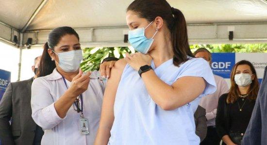 SES divulga 1º balanço da vacinação contra a covid-19 em Pernambuco