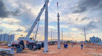 Nova loja da Ferreira Costa está em construção em Caruaru