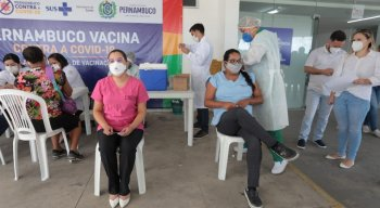 Ao todo,6.184 doses de vacina foram destinadas para a cidade.