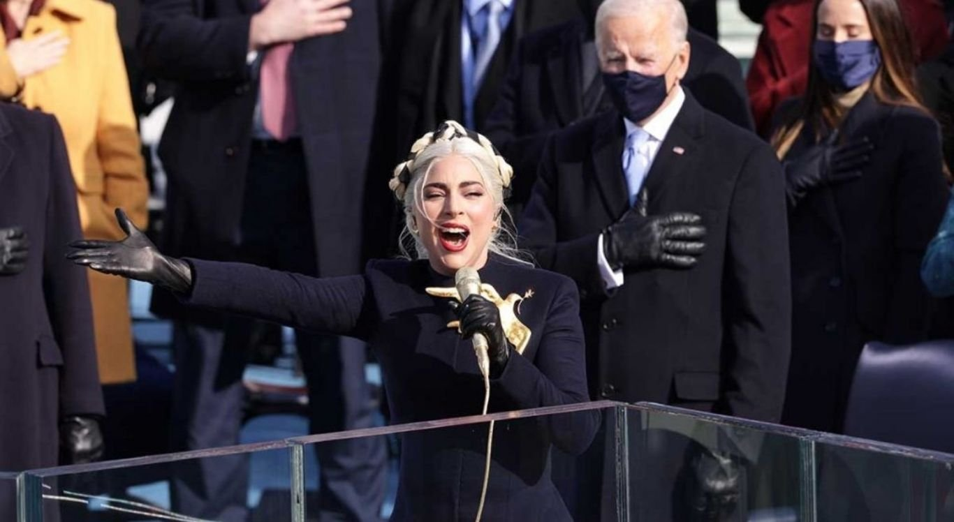Cantora se apresentou na posse de Joe Biden